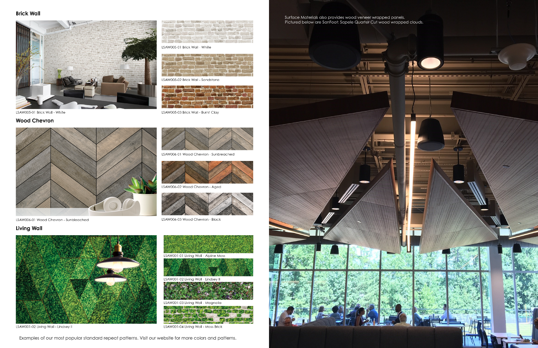 Fifth Page of Acoustic Solutions Brochure